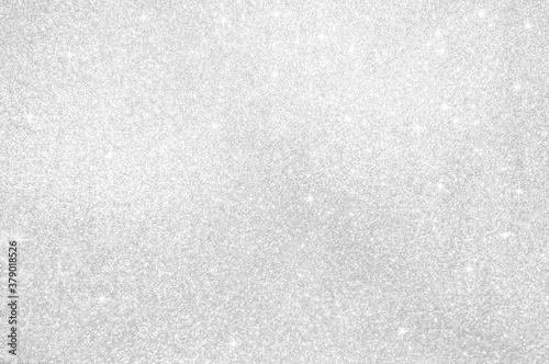 Abstract light grey,sliver color de focused circular background Canvas