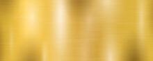 Golden Metal Wide Textured Pla...