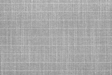 Gray Material Texture Checkered Light Gray Textured Fabric Background Close-up