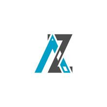 Illustration Vector Graphic Of Logo Letter Az