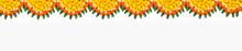 Marigold Flower Rangoli Design...