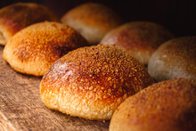 Soft And Golden Burger Breads ...