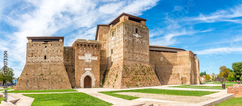 Photo Panoramic view at the Sismondo Fortress in Rimini - Italy
