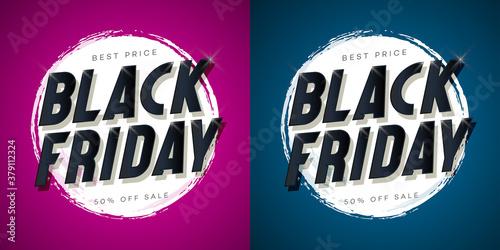 Papel de parede Black friday sale banner for social media publication, mega sale, web site background, promotion, special offer, advertisement, hot price and discount poster