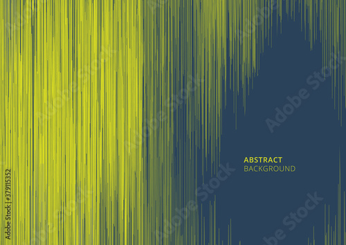 Obraz Abstract green vertical lines scratch effect striped background and texture - fototapety do salonu