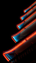 Neon Patterned Lighting Of A P...