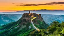 View Of Civita Di Bagnoregio, ...