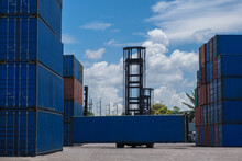 Container Handlers In The Harb...
