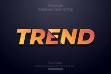 Orange Trend Editable Text Sty...