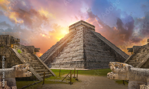 Fototapeta Mexico, Chichen Itza, Yucatn