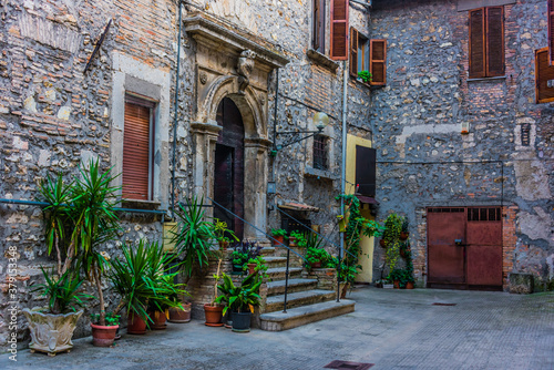 Fototapety, obrazy: Architecture of Narni, an ancient hilltown of Umbria, Italy