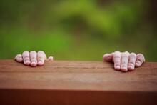 Close-up Of Children's Hands C...