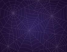 Spooky Spider Web Halloween Ba...