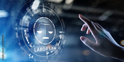 Photo Labor Law Lawyer Legal Business Consulting concept.