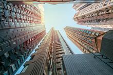 High Rise Apartment Buildings In Hong Kong