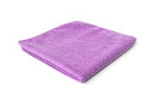 Purple Microfiber Towel Isolat...