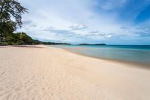 White Sand At Chaweng Beach, K...