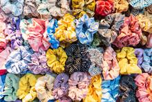 Colorful Elastic Rings. Girl E...
