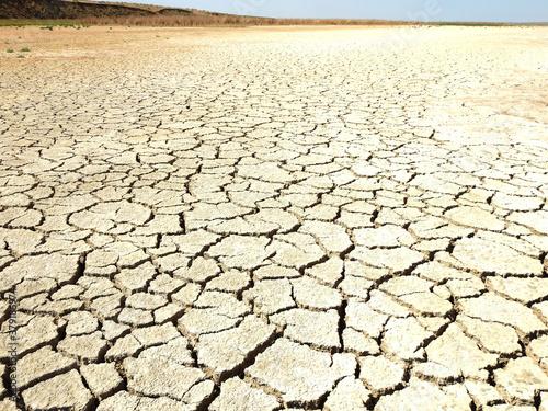 dry bottom of the reservoir #379186974