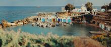 Fisherman Village In Milos