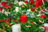 Fototapeta Wieża Eiffla - Christmas decoration