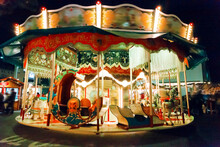 View Of An Merry-go-round Caro...