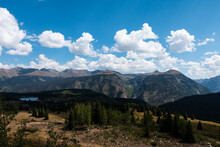 View From Molas Pass Overlook San Juan National Forest Million Dollar Highway Colorado