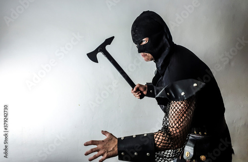 gothic executioner Wallpaper Mural