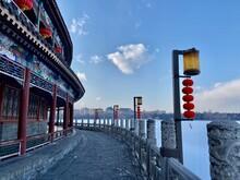 Winter Morning  In Beijing