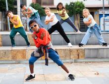 Little Boy Hip Hop Dancer Exer...