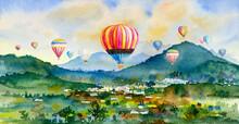 Watercolor Landscape Painting ...