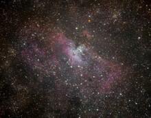 Eagle Nebula In The Night Sky