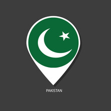 Pakistan Flag Vector Marker Wi...