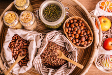 Variety Of Grains And Legumes ...