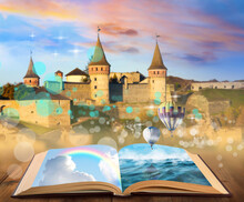 Fantasy Worlds In Fairytales. ...