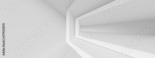 Abstract Office Background. White Indoor Texture - 379324170