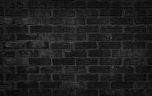 Abstract Dark Brick Wall Textu...