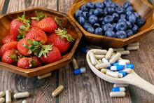 Fresh Natural Fruits Vs Pills....