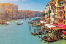 Venice Cityscape With Grand Ca...