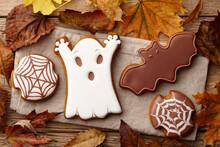 Halloween Gingerbread Cookies ...