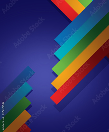 Okleiny na drzwi - Kolorowe - Wielobarwne  abstract-colorful-background-with-lines