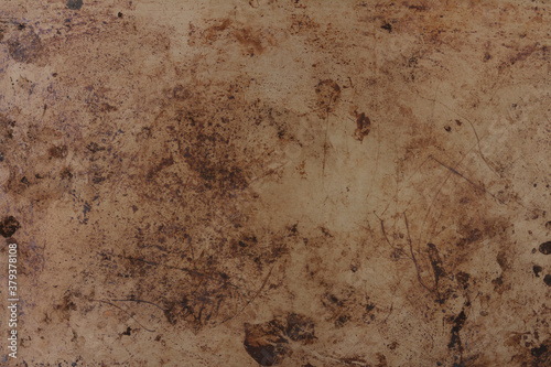 Foto Brown rust metal grunge textured material background