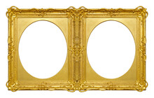 Double Golden Frame (diptych) ...