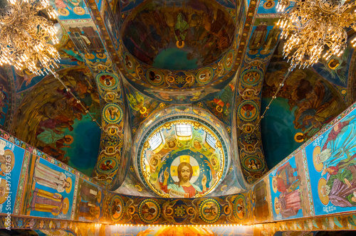 Cathedral of Our Savior on Spilled blood Canvas