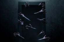 Scary Zombie Hands, Halloween ...