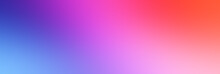 Abstract Background, Gradient, Red, Blue And Purple Pastel Colors With Beautiful Blur Background Used In The Design Of Wallpapers, Wallpapers And Computer Screens