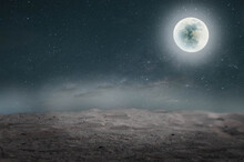 Full Moon Over The Moon