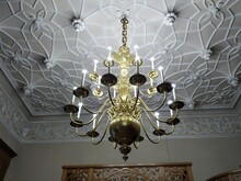 Chandelier On The Wall