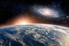 Andromeda With The Earth Deep ...