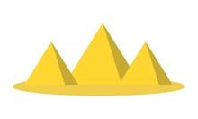 Three Pyramid Vector Logo